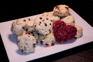 Display of Scones