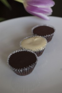 Dark White and Milk Chocolate Miniatures