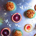 Blood Orange Vanilla Bean Muffins with Coconut