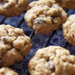 Thick and Chewy Oatmeal Cookies