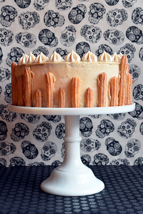Churro Layer Cake