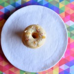 Lemon Ginger Zinger Doughnuts with Honey Butter Glaze